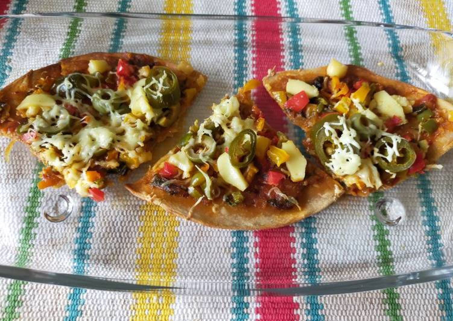 Thin Crust Whole Wheat Pizza