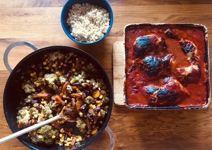 Rezept Um Hausgemachte Marokkanisches Hähnchen zuzubereiten