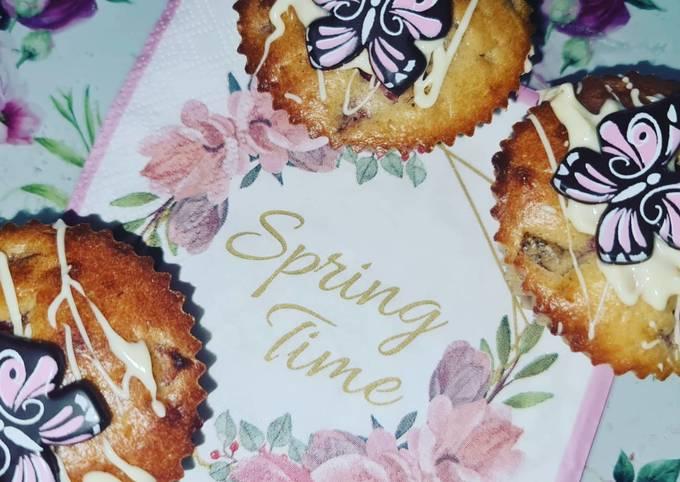 Rezept Um Preisgekrönte Erdbeer-Weiße Schokolade-Muffins �� zu machen
