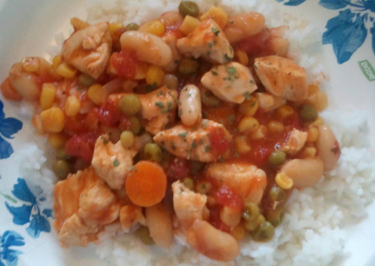 low cal chicken stew