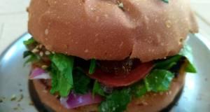 Letuce homemade burger