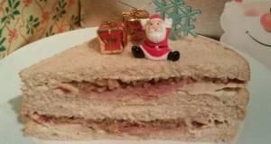Vickys Christmas Leftovers Sandwich