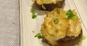 Shiitake and Tuna Cheese Bake With Aromatic Yuzu Pepper