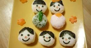 Children Love These Decorative Hina Doll Temarizushi