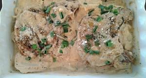 Pork Chops and Scalloped Potatos
