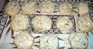 Maple pecan shortbread cookies