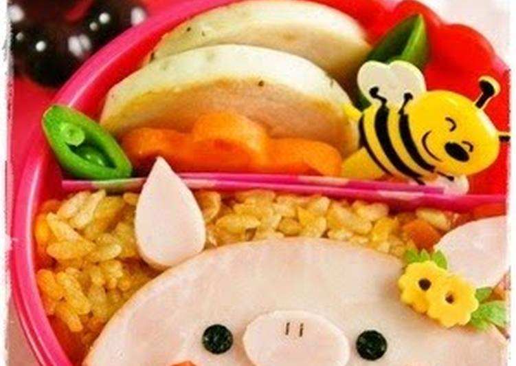 Easy Little Piggy Bento