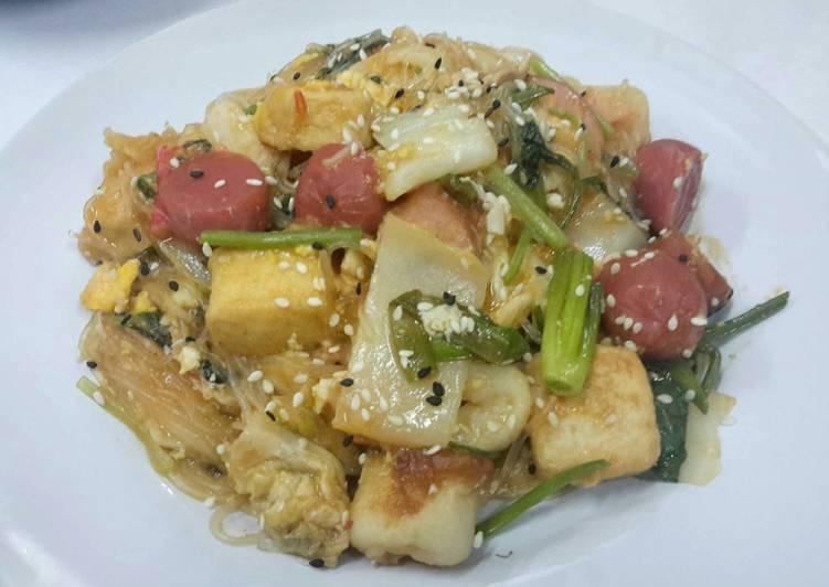 Thai style Stir Fried Suki-Yaki