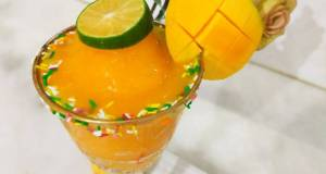 Fresh mango slush