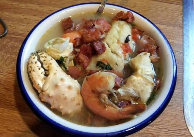 Sopa De Mariscos *Authentic Mexican* (Seafood Soup)