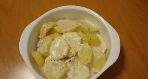 Potatoes Cooked in Milk