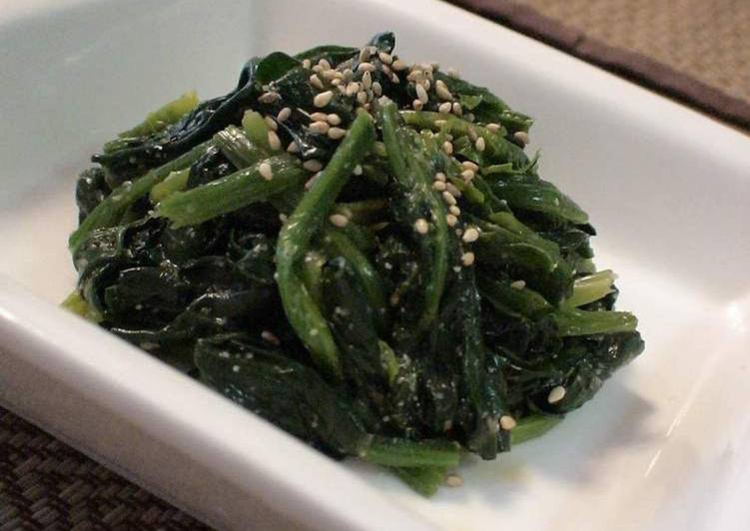 Our Family's Spinach Namul (Korean-Style Salad)