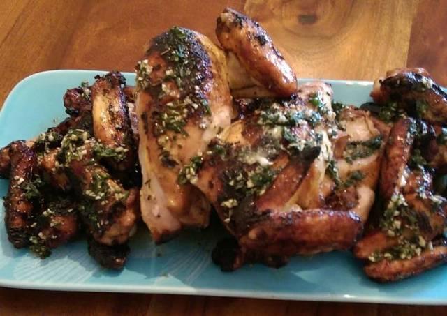 Garlic lemon herbed chicken