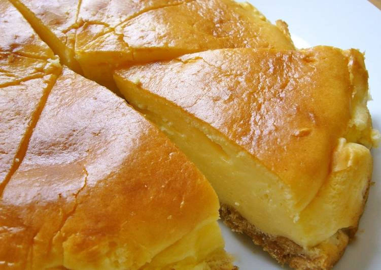 Just Mix, Very Easy Baked Cheesecake