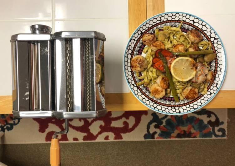 Seafood Trio Pasta