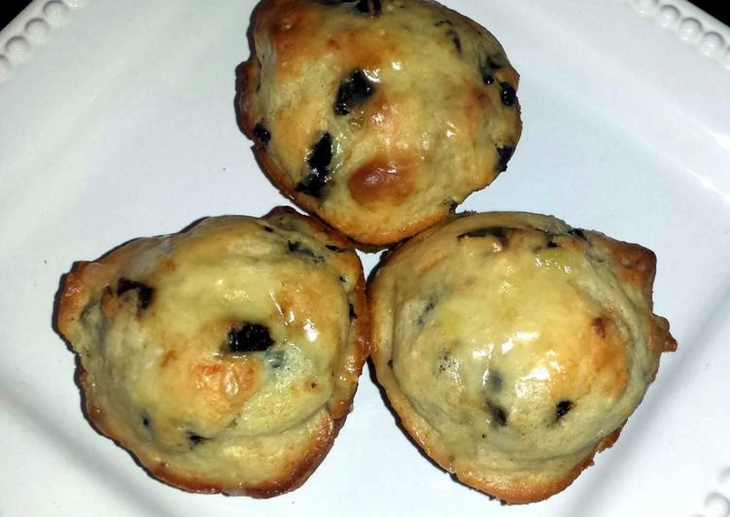 Lu's cherry orange nut muffins
