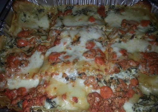Veggies vs.Meatie Lasagna