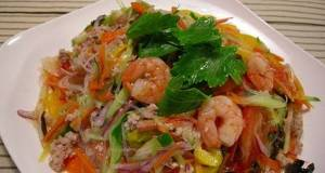 Yum Woon Sen Thai Cellophane Noodle Salad