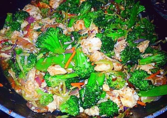 Honey Teriyaki Chicken Stir Fry