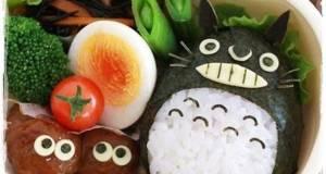 Character Bento Meatball Makkuro Kurosuke
