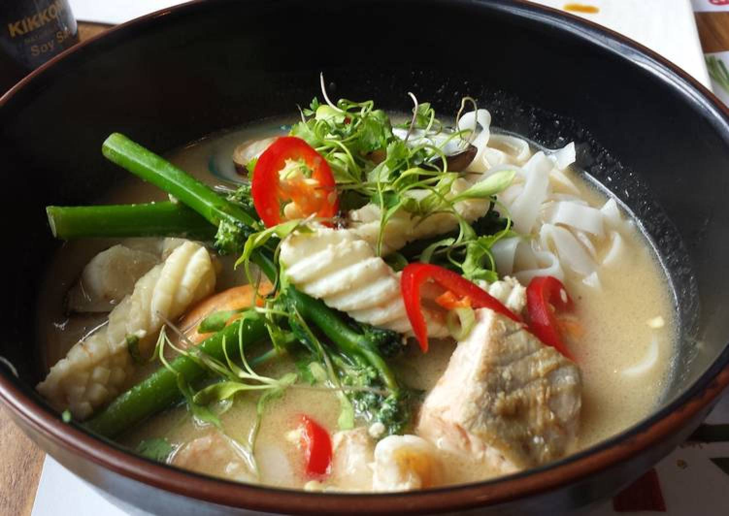 Coconut Seafood Broth