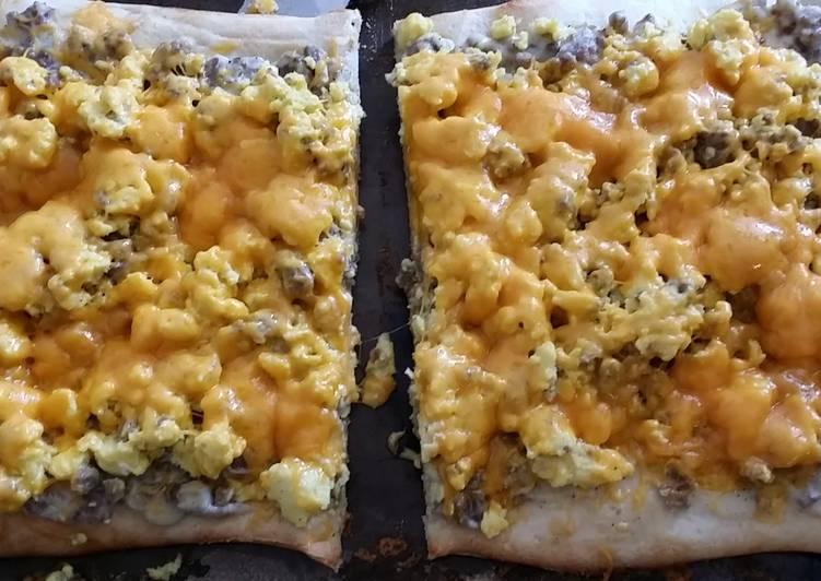 Taisens breakfast pizza