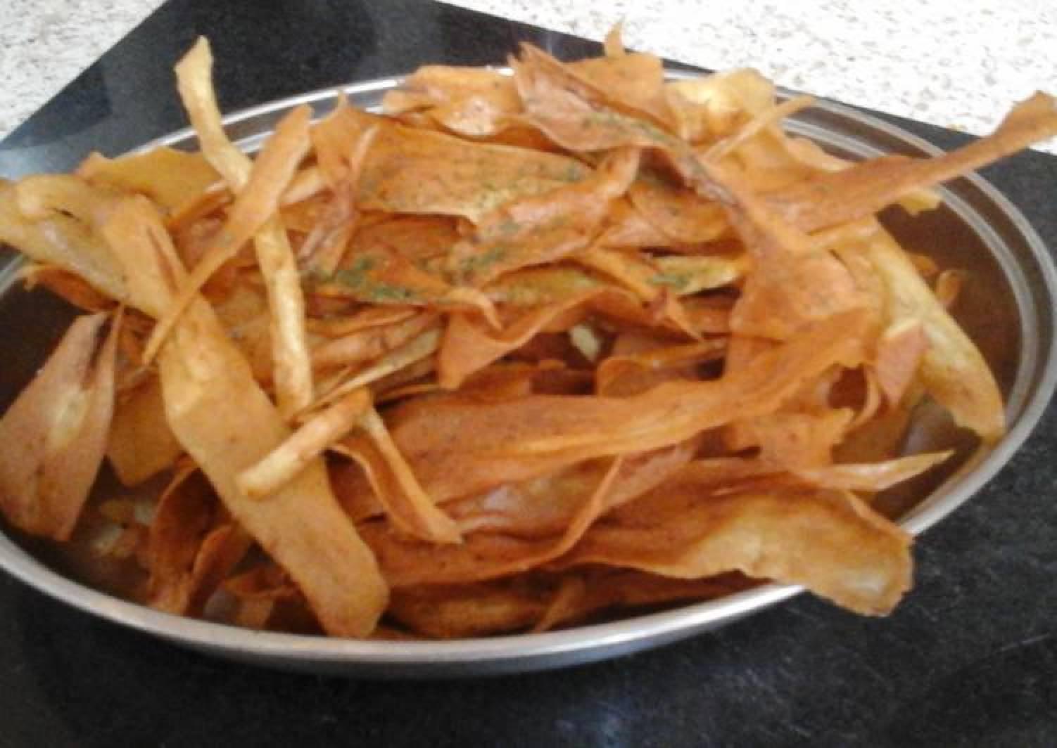 My Deep Fried Parsnip Crisp