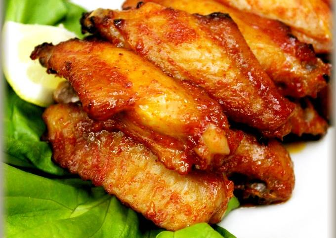 Recipe of Homemade Gochujang Mayonnaise Roast Chicken Wings