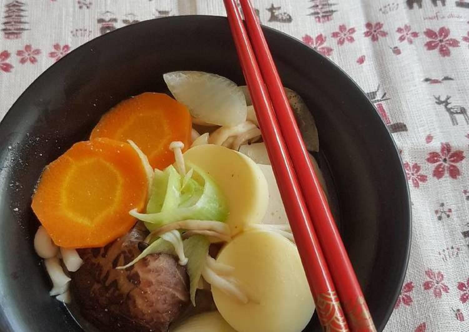 Mushroom Miso Udon