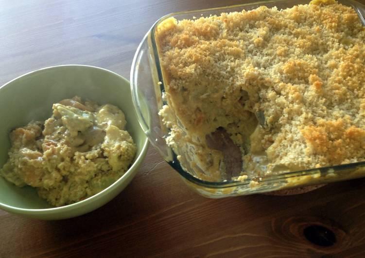 Creamy Tortellini Casserole
