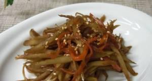 My Grandmas Kimpira Stir-fry