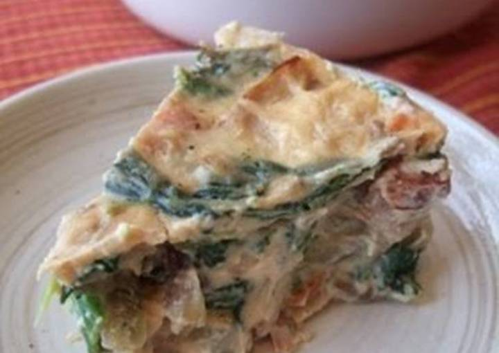 Crustless Quiche With Lots of Vegetables
