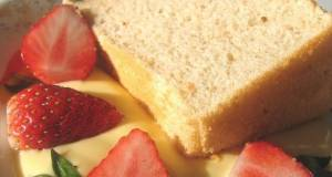 Fresh Strawberry Chiffon Cake
