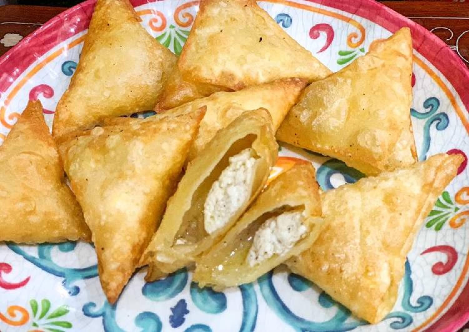 Feta Cheese Samosas