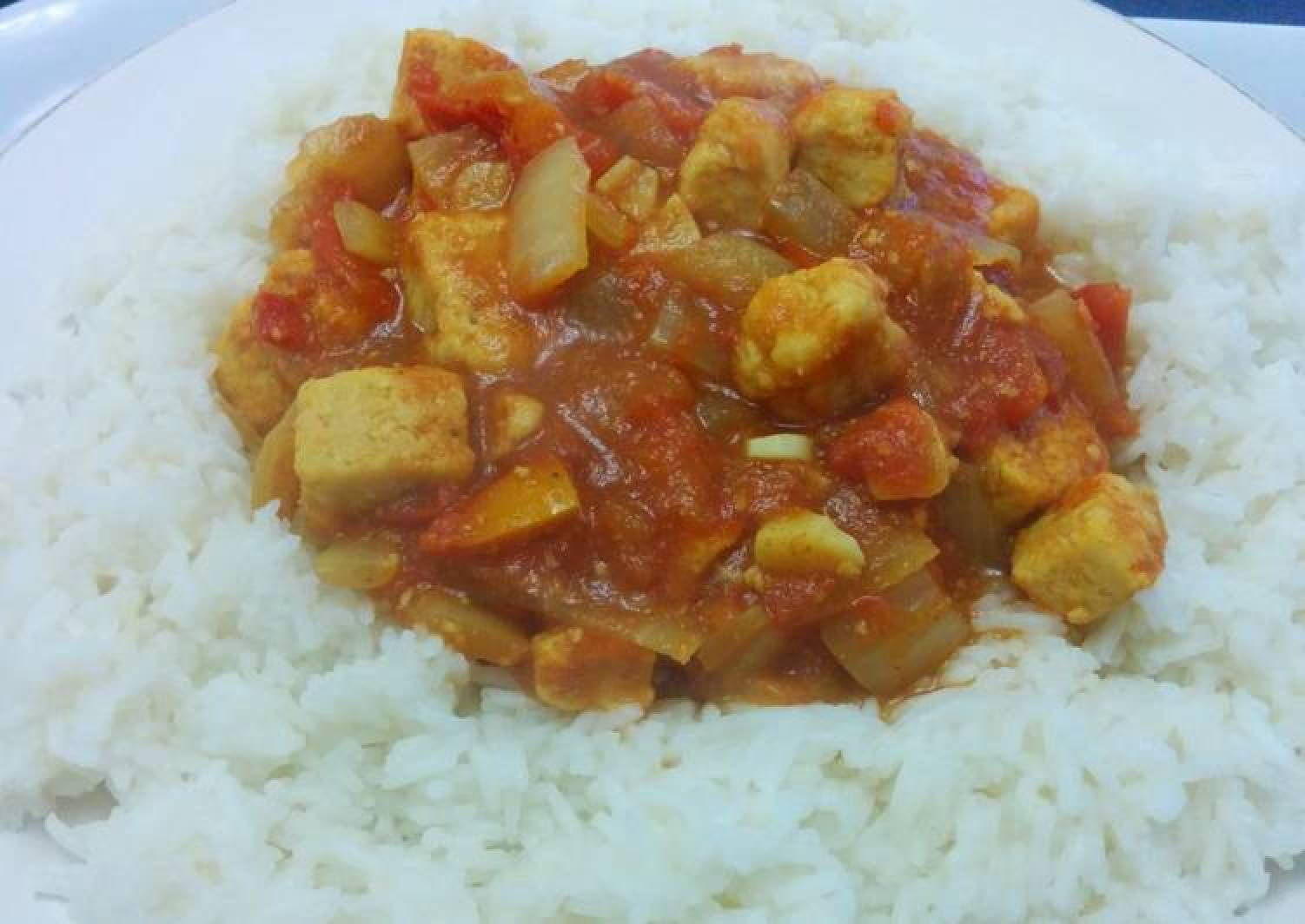 Quorn chicken curry