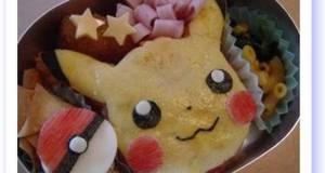 Easy Pikachu Omelette Charaben