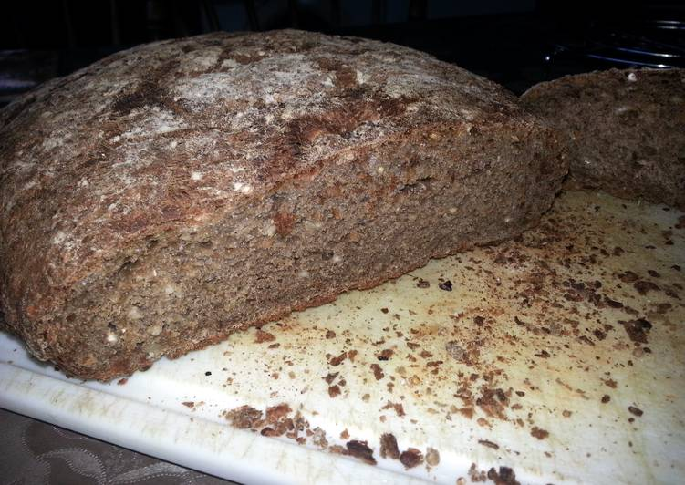 Recipe of Any-night-of-the-week Brown bread 9 grains