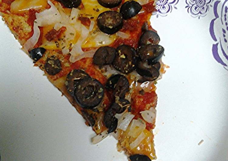 Pizza, low carb