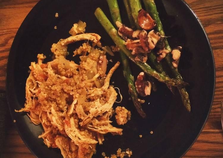Turmeric Chicken And Quinoa