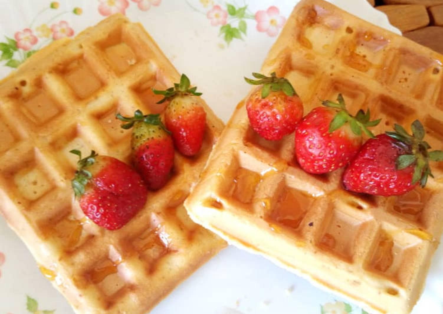 Belgian waffles # breakfast delight
