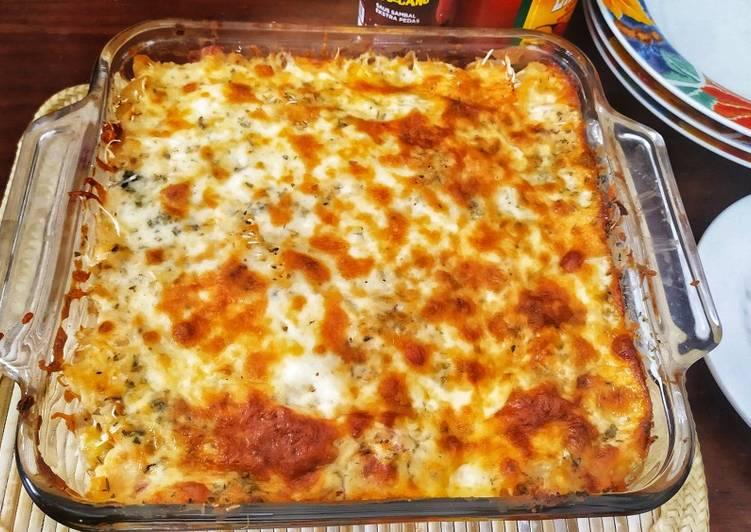 Macaroni Schotel Cheesy & Melting