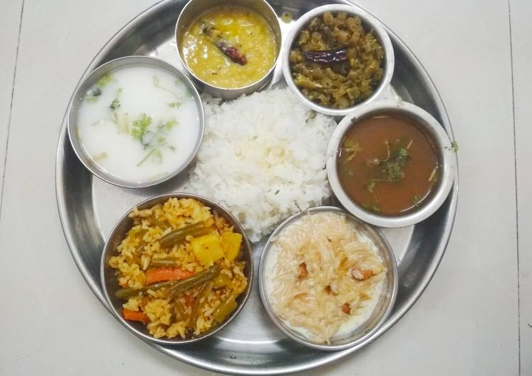 Easiest Way to Prepare Award-winning Authentic lunch during auspicious day
