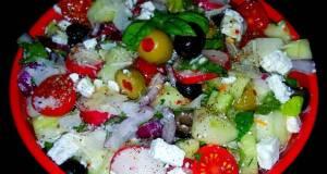 Mikes Healthy Zesty Greek Salad
