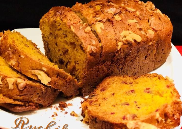 Carrot Dates Walnut cake