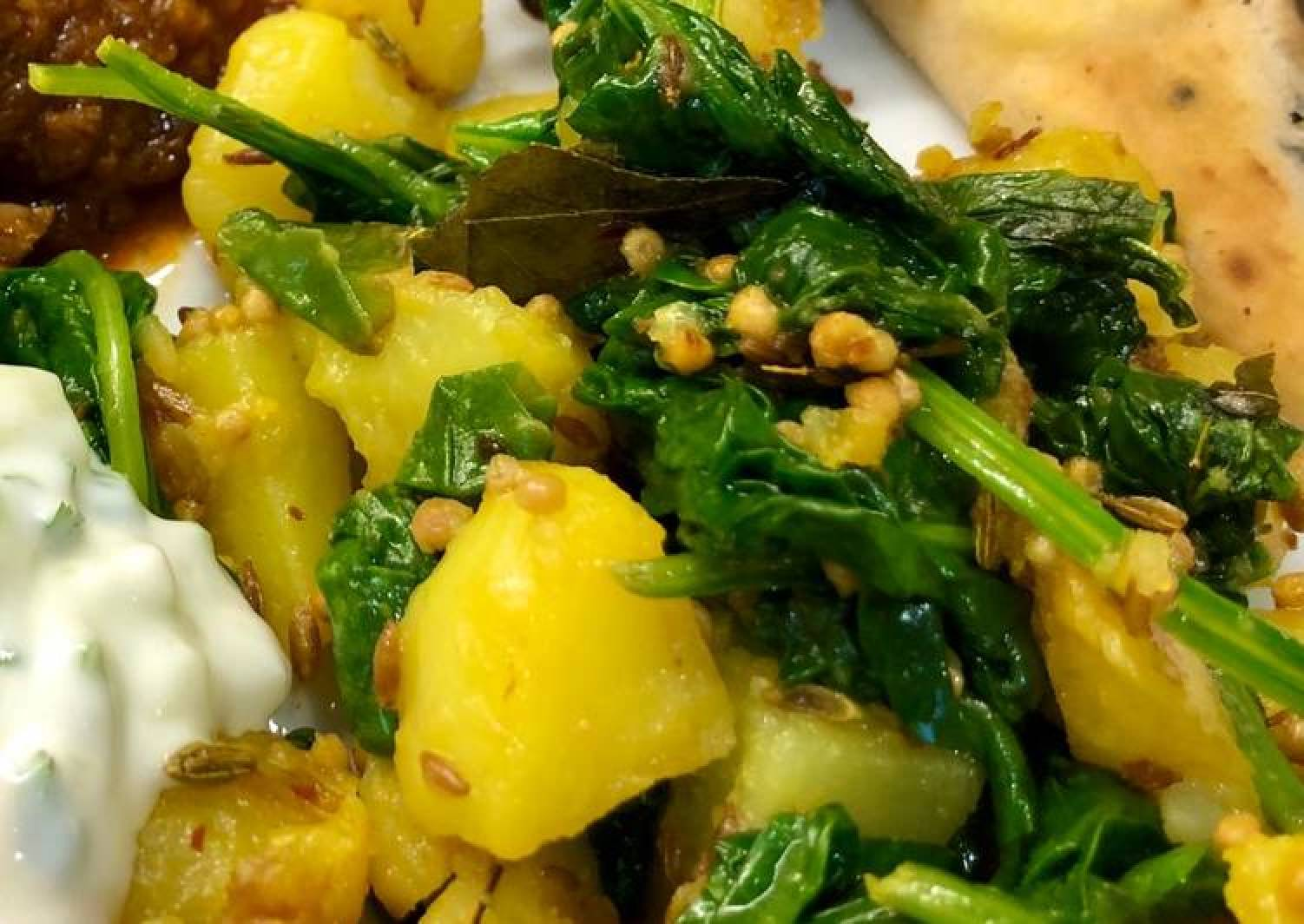 Saag Aloo #MyCookbook