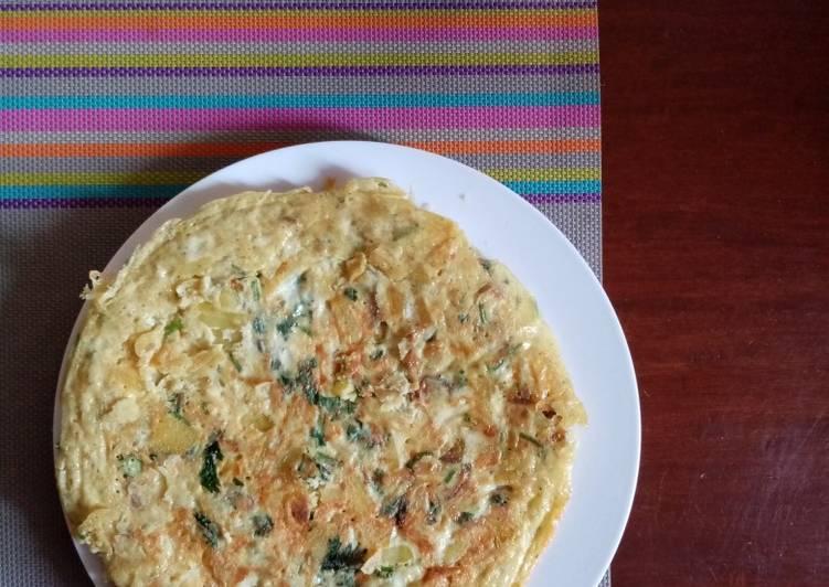 Egg Potato Omelette