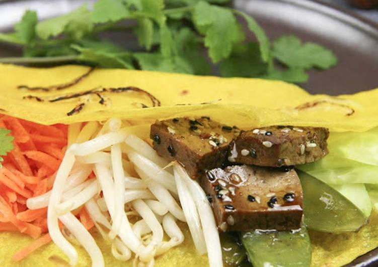 Crêpes vietnamiennes (bánh xeo)