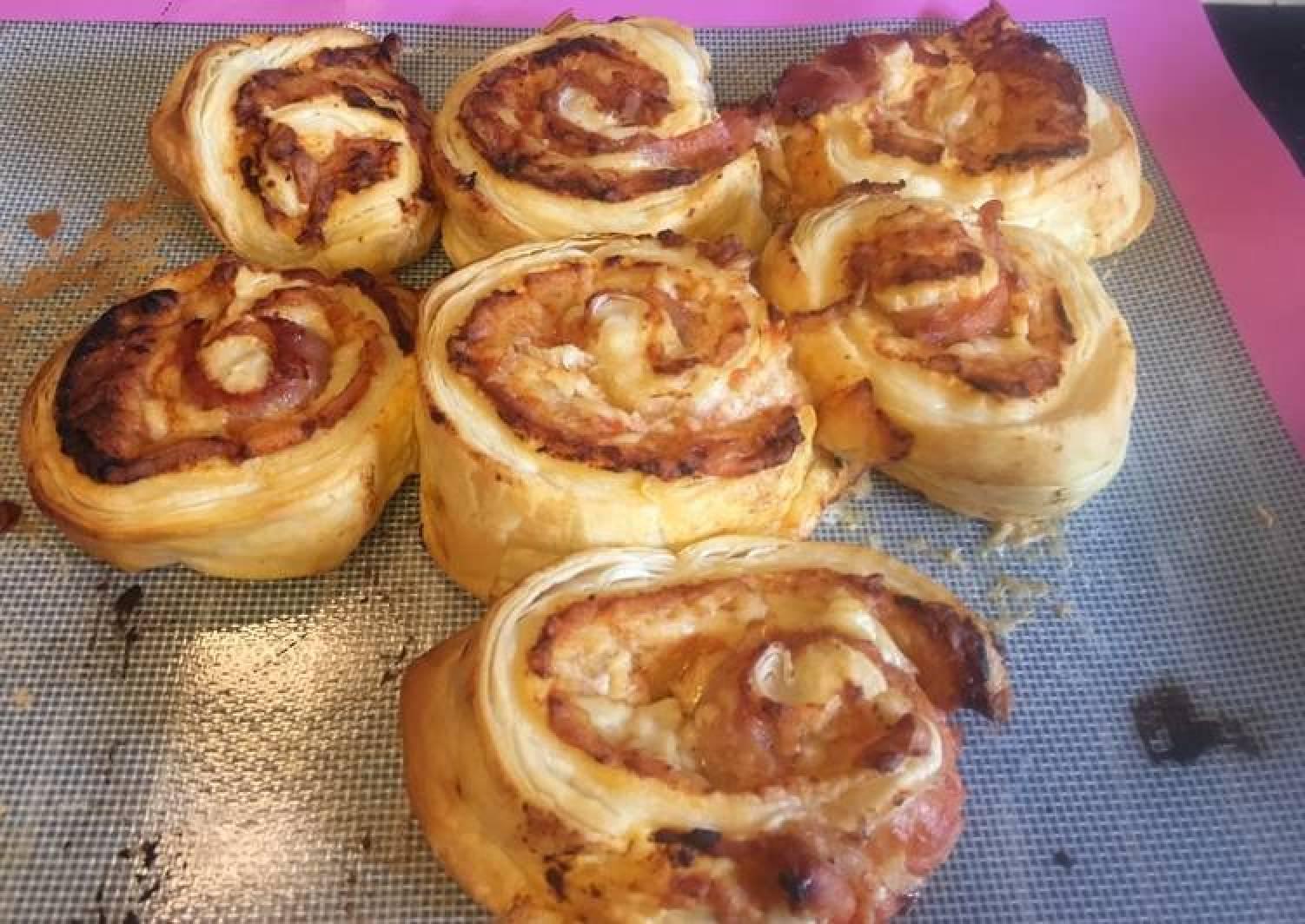 Pastry swirl - (pre 5min, oven 25min)