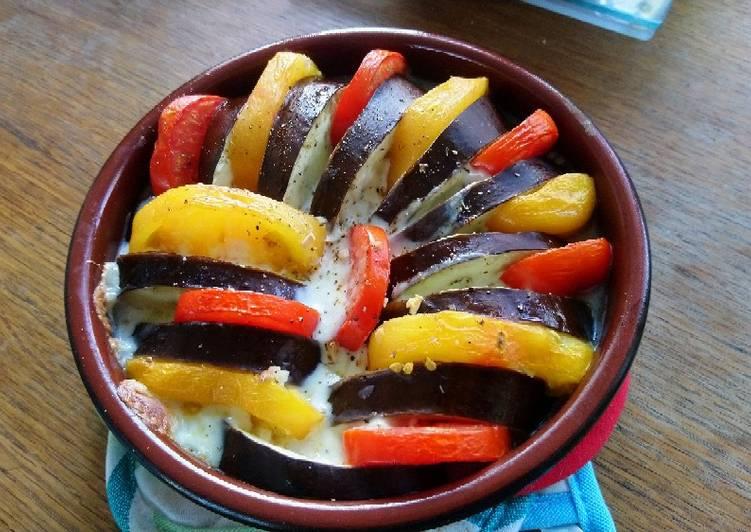 Tian de légumes à l'italienne