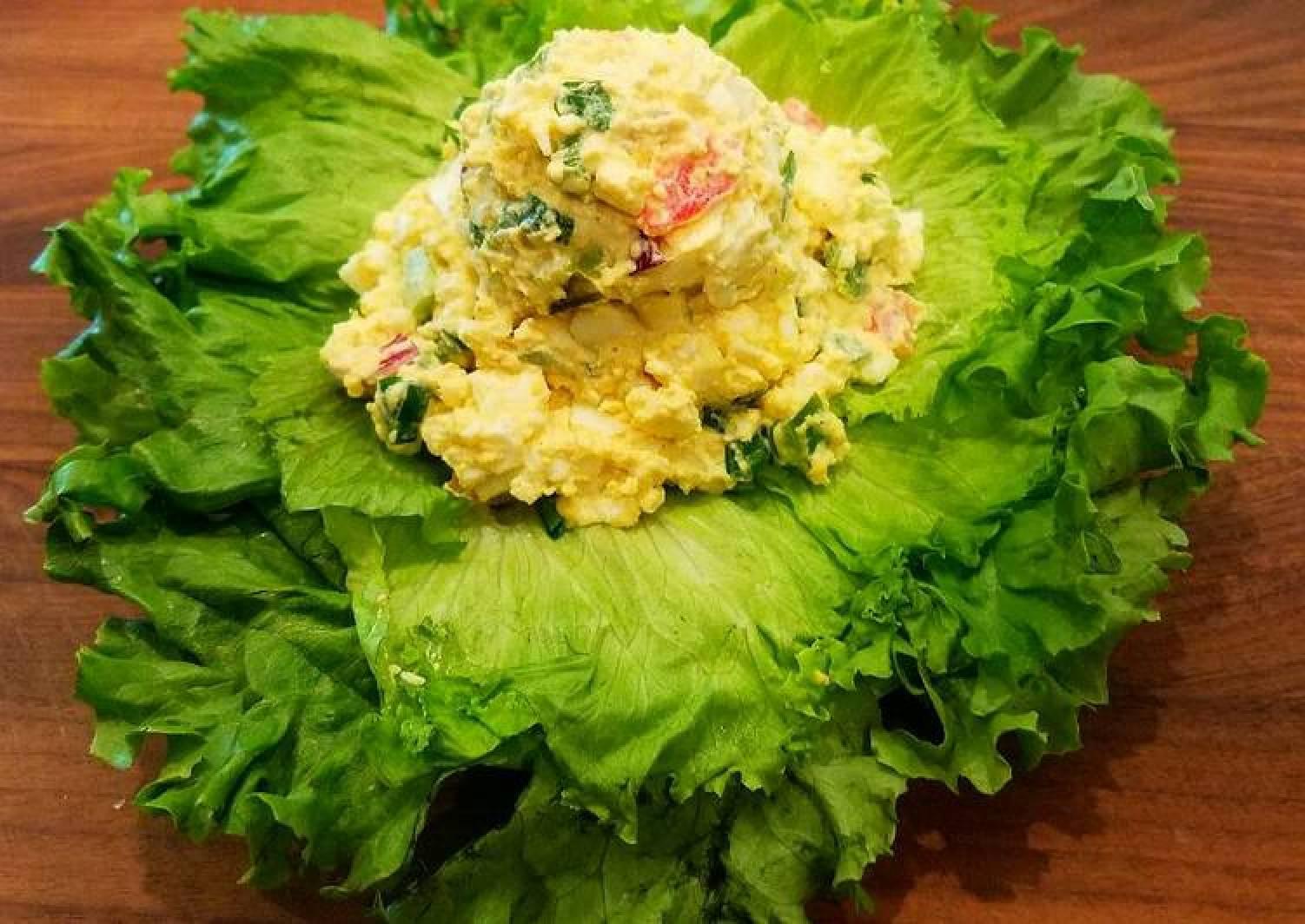 Mike's Southwestern Egg Salad On Jalapeño Bagels